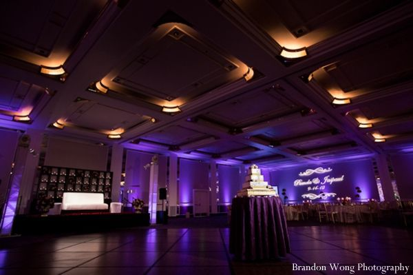 Candlelight Indian Wedding Reception by Brandon Wong Photography
