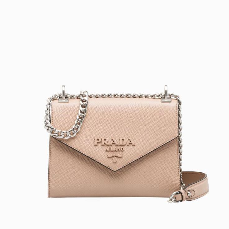 23a032041c3d Prada Monochrome Saffiano leather bag Checking out the Prada handbags  authentic or designer LV handbags then Click visit link above to see more -  Prada ...