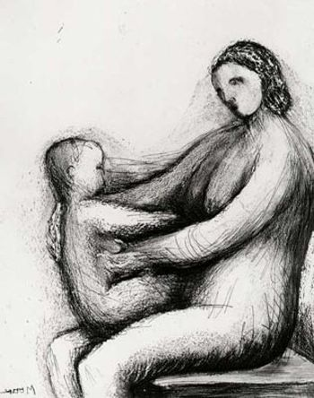 Henry Moore - Mother and Child