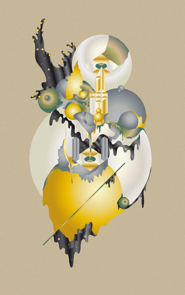 Abstracts : Tryptich by Christoph Ruprecht, via Behance