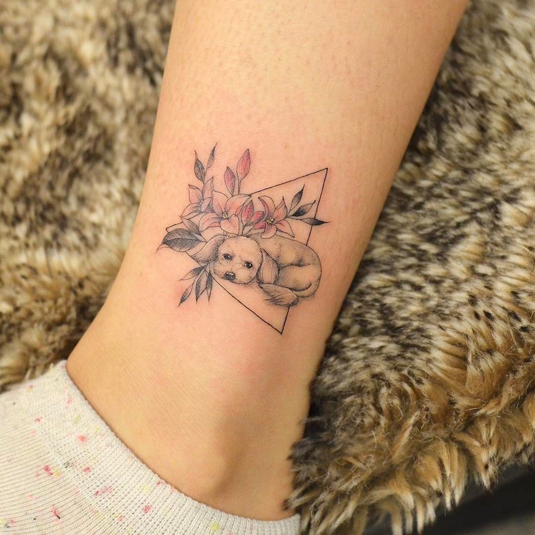 The 14 Best Poodle Dog Tattoo Ideas