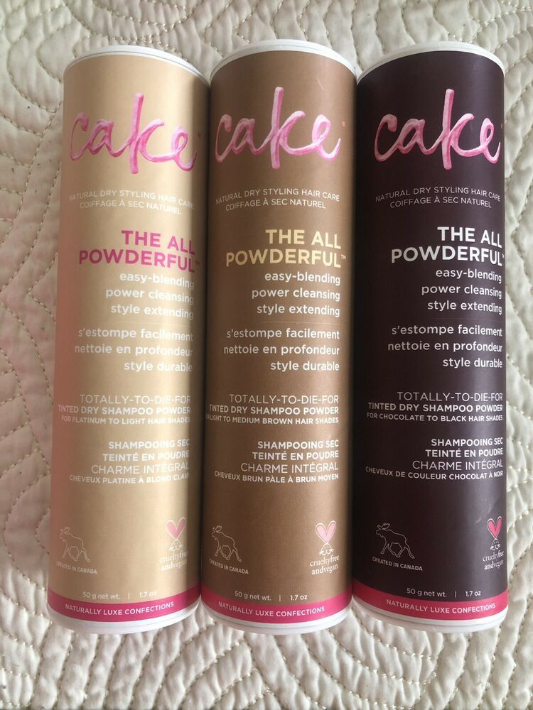 Cake Beauty All Powderful Tinted Dry Shampoo Powder Blonde Brown Black Choice Ebay Shampoo Powder Dry Shampoo Powder Dry Shampoo