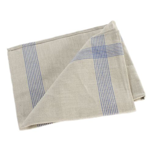 Linen Blue and White Tea Towel by Libeco Home