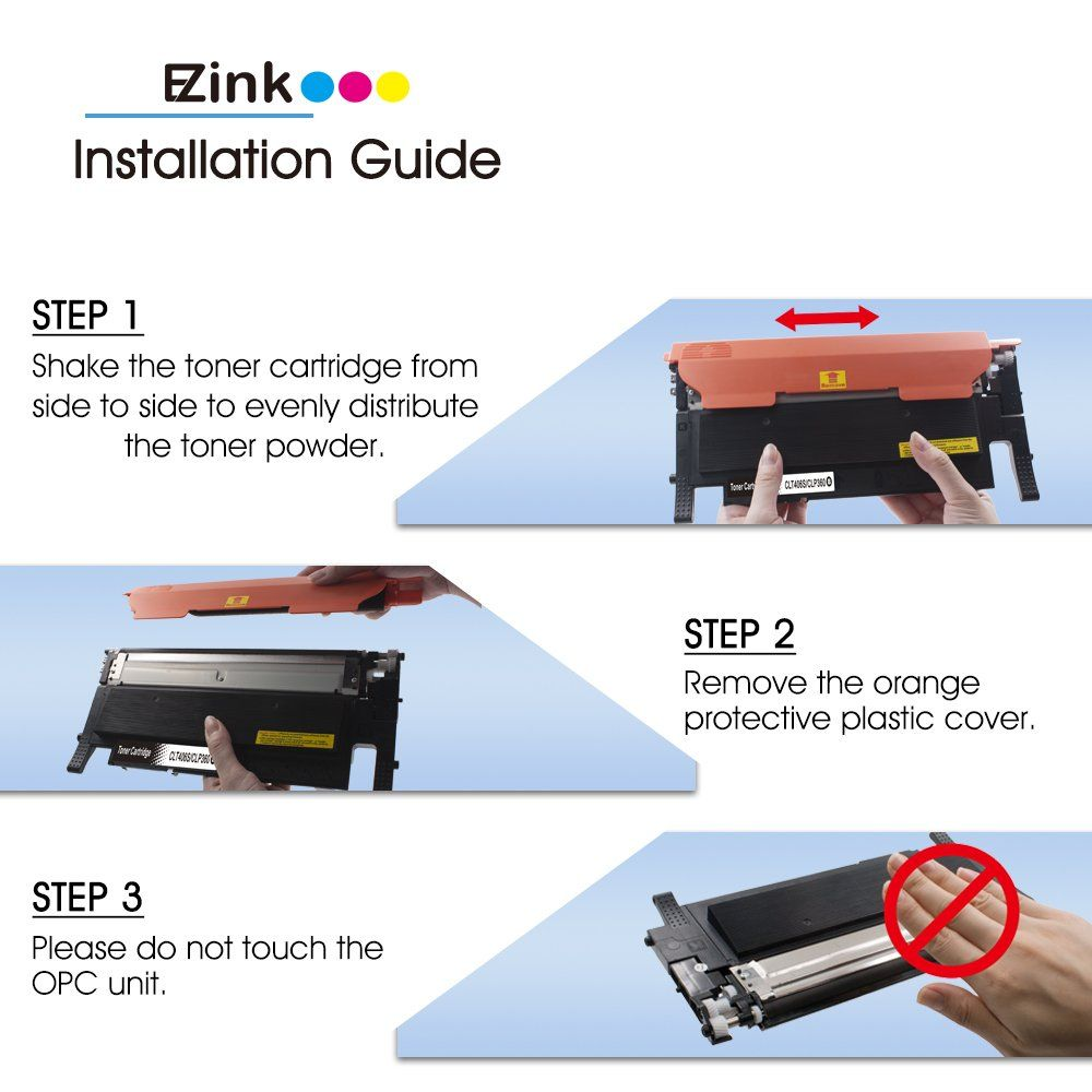 2 E-Z Ink TM Compatible Toner Cartridge Replacement For Brother TN210 5 Pack