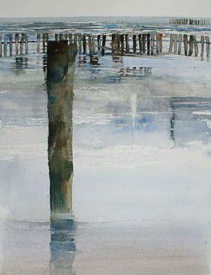 Xavier Swolfs Interview Wasserfarben Landschaften Abstrakte