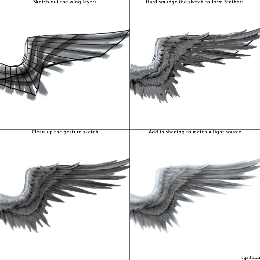 How to Draw Angel Wings: A Guide to Forming Interesting ...