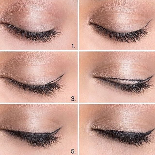Follow this for the perfect and simple winged eyeliner! 670543831998755961