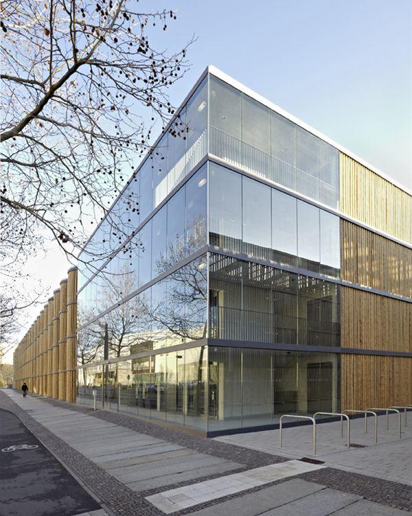 Architekten In Leipzig haptische hülle parkhaus hpp architekten in leipzig zoos