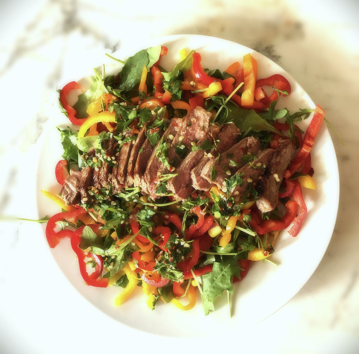 Mexican Inspired Steak Salad