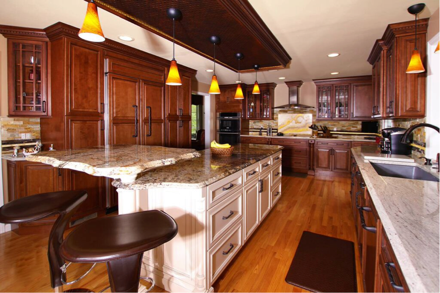 Best Rustic And Refined These Stylish Fabuwood Cabinets Are 400 x 300