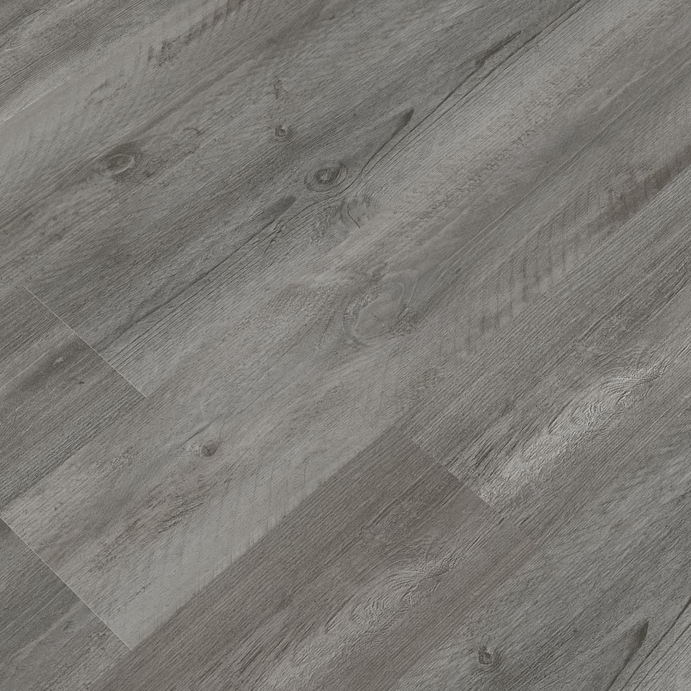 Msi Pelican Gray 7 In X 48 In Rigid Core Luxury Vinyl Plank Flooring 23 77 Sq Ft Case Pelica7x48 5mm The Home Depot In 2020 Vinyl Plank Flooring Luxury Vinyl Plank