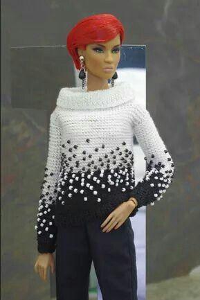 Pin von Raquel Barbosa auf Crochet - Doll | Pinterest