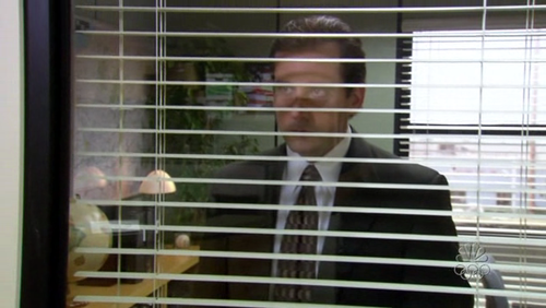 He's always watching | Michael scott quotes, The office jim