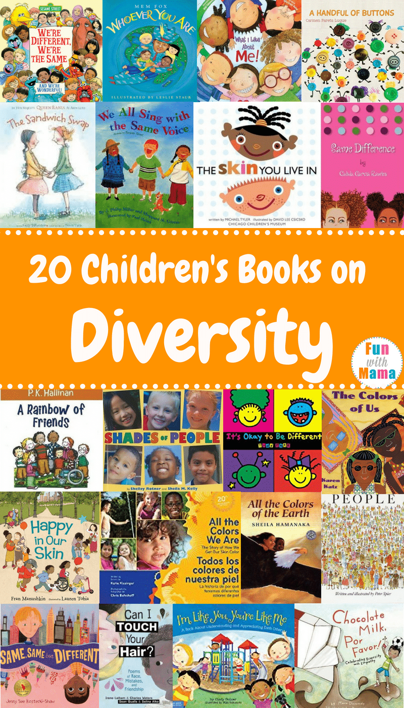 20 Children S Books About Diversity Fun With Mama Blog