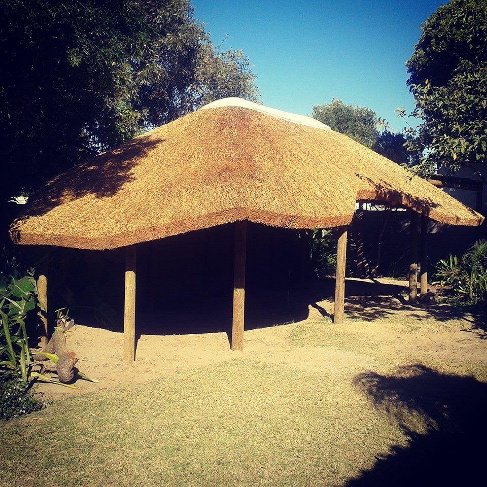 Thatched Lapa We Tackle All Shapes And Sizes Thatchroof Garden Lifestyle Entertainmentarea In 2020 Thatched Roof Entertaining Area Outdoor Structures