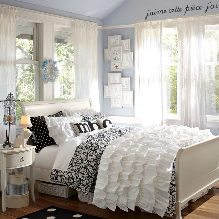 Simple Teen Girl Bedroom Ideas paris themed bedroom teen girls | simple diy inspiredthis pb