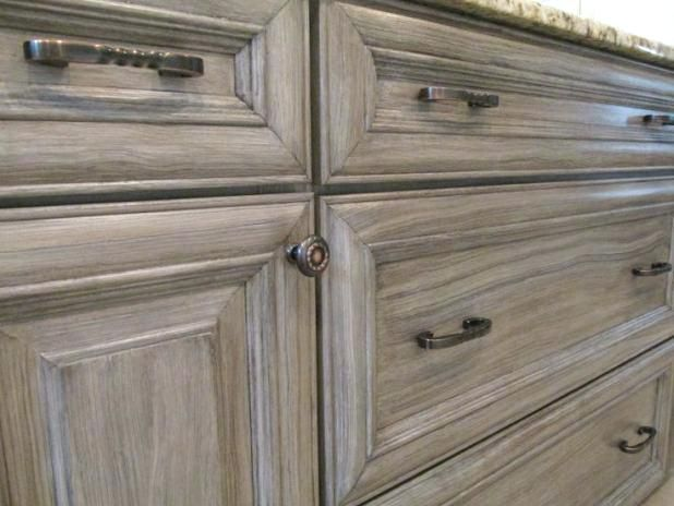 driftwood grey cabinets photo 1 of 8 antiquing cabinets ...