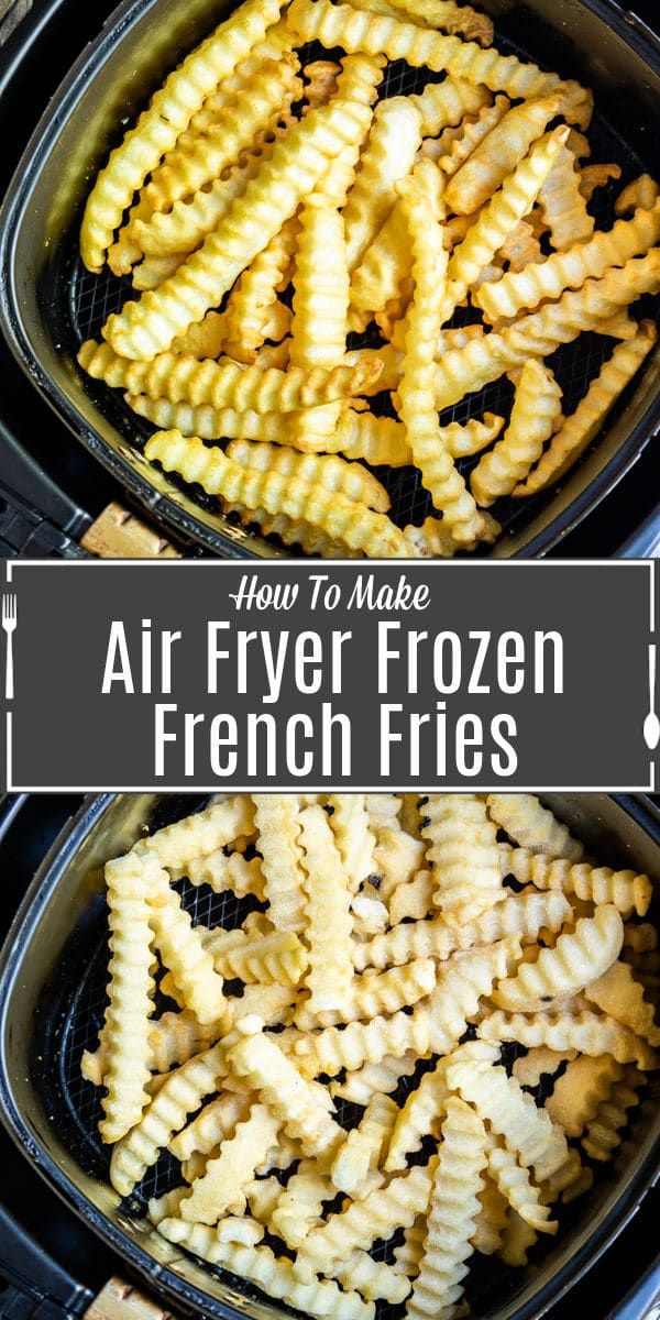 Air Fryer Frozen French Fries in 2020 Frozen french