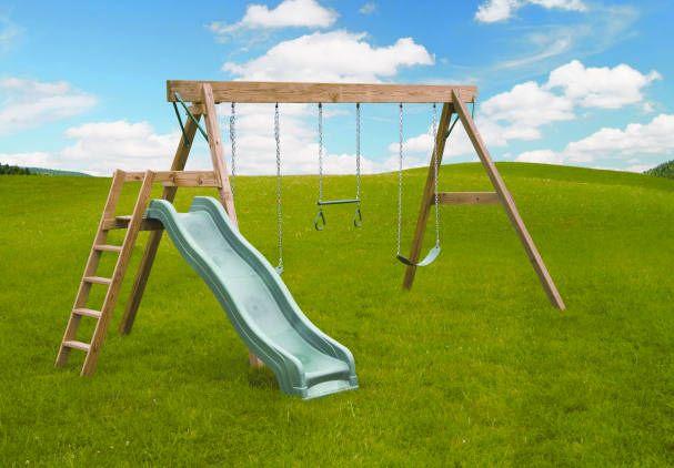 Really Simple Swing Slide Swing And Slide Set Swing And Slide Wood Swing Sets