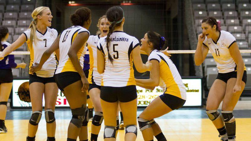 Volleyball Dominates Western Carolina App State Volleyball Athlete