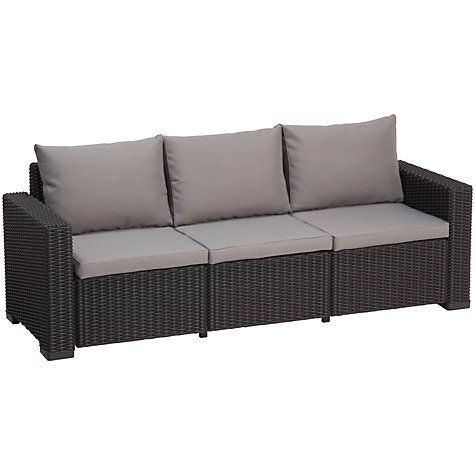 Buy Suntime California Outdoor 3-Seater Sofa Online at johnlewis.com ...