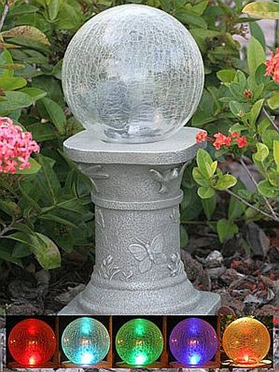 17 Best 1000 images about gazing balls globes on Pinterest Gardens