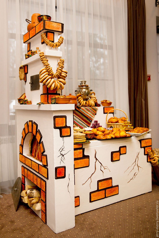 Печка для декораций своими руками