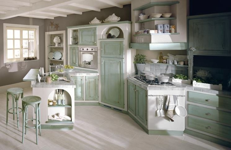 Stunning Come Progettare Una Cucina In Muratura Pictures - Ideas ...
