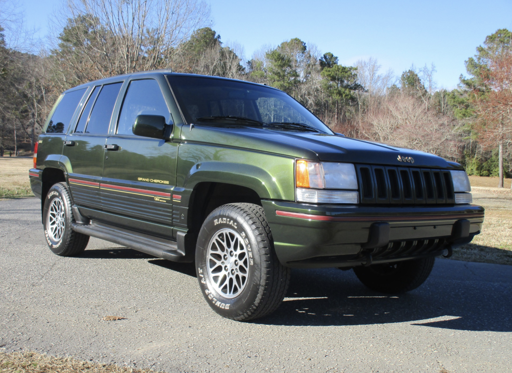 No Reserve 1995 Jeep Grand Cherokee Orvis Edition In 2020 Jeep