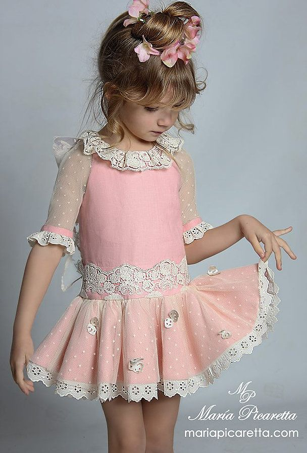 Vestir Infantil María Picaretta | Vestidos niñas | Pinterest ...