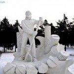 Amazing Snow Sculptures amazing pictures