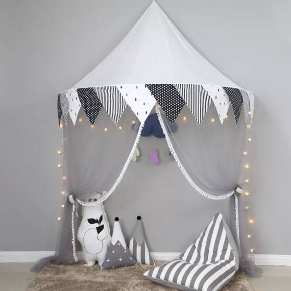 Play room tent  kids canopy  teepee for children  tipi wall decor  home decor  nursery decor  play tent awning  indoor teepee & Play room tent  kids canopy  teepee for children  tipi wall ...