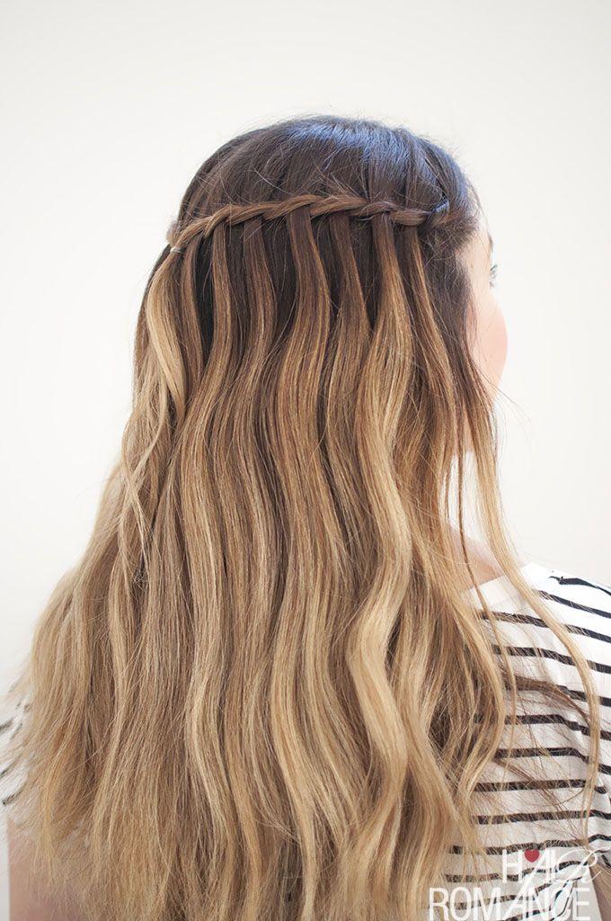 Waterfall Mermaid Braid Tutorial For Long Hair Hair Styles