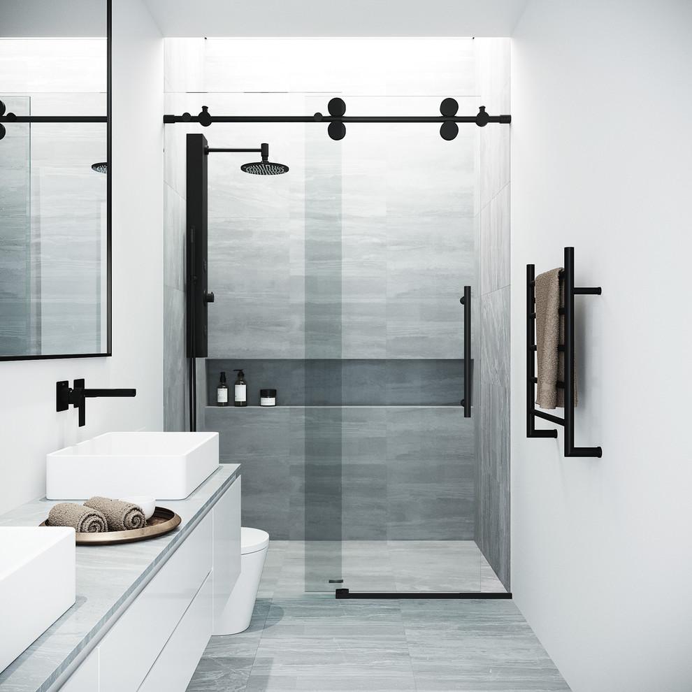 Vigo Elan 60 X74 Adjustable Frameless Sliding Shower Door