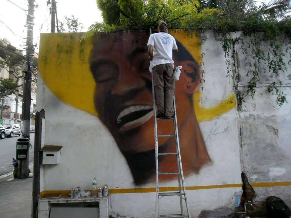 Tinta Spray - Vila Madalena/SP
