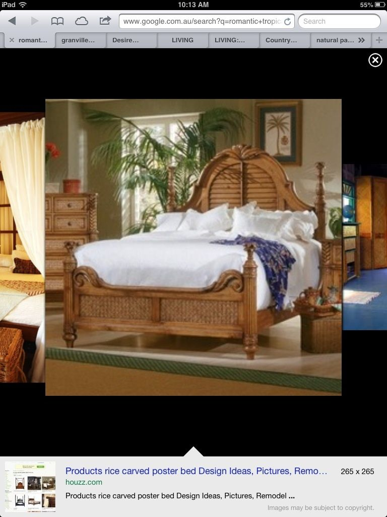 Tropical bedroom | Progressive furniture, Coastal bedroom ...