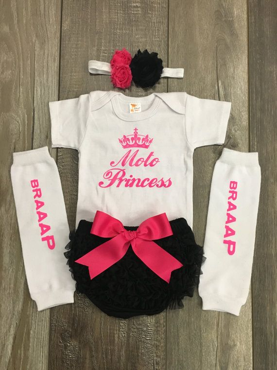 Motocross Baby Outfit Motoprincess Baby By Mylittlerascal