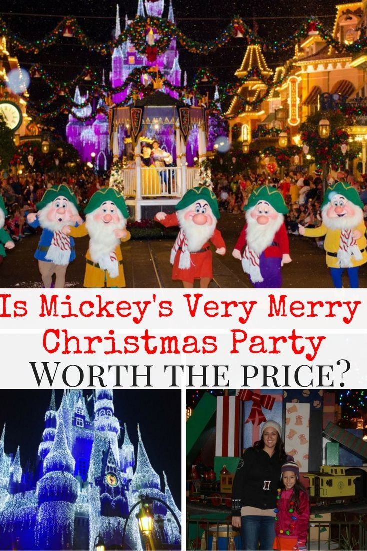 mickeys very merry christmas party requires an extra ticket that costs around 100 are free cookies character meet and greets holiday decor - Mickeys Very Merry Christmas Party