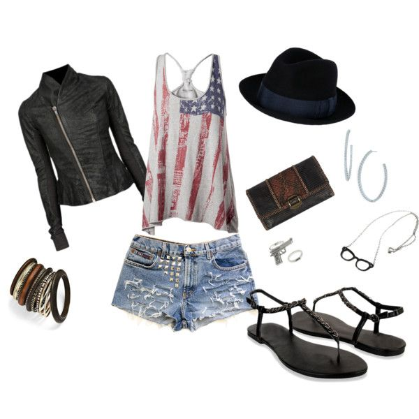 American Pride, created by mcbellis on Polyvore