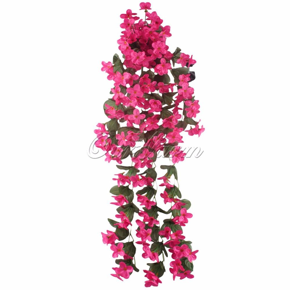 Real Touch Orchids Artificial Silk Flowers For Home Decoration Fake