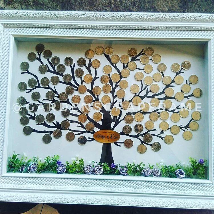 Geser Ke Kiri Untuk Detailnya Mahar Pohon Garden Concep Ide Perkawinan Mawar Origami Dekorasi Perkawinan