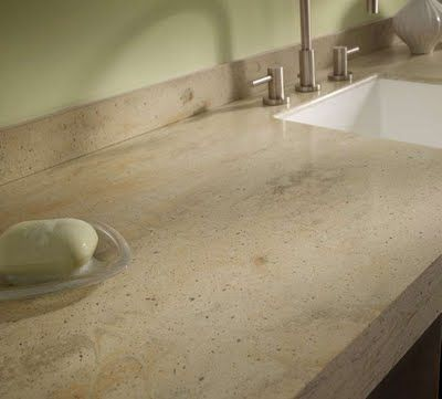 Corian Countertop With Integrated Sink Inside