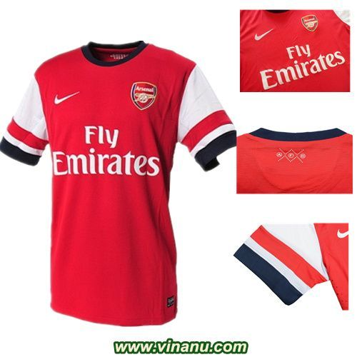 new product 700ea cd120 2012-2014 Arsenal Home kit | Arsenal F.C. soccer jersey ...