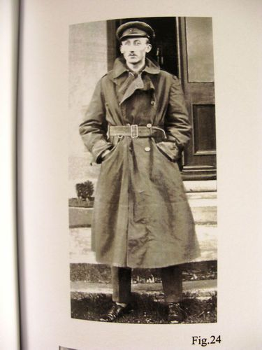 Ww1 british officers khaki canvas trench coat classic ww1 design ...