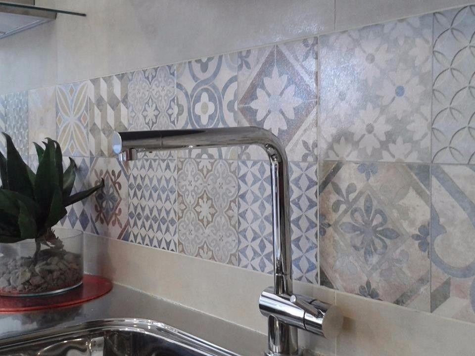 Ceramica lourdes 35x35 piso y pared de 1ra calcareo for Revestimiento ceramico cocina