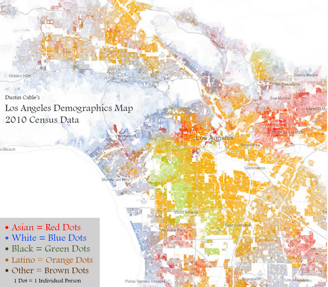 A Post With 9 Awesome Maps Of Los Angeles Amazing Maps Map Data Map