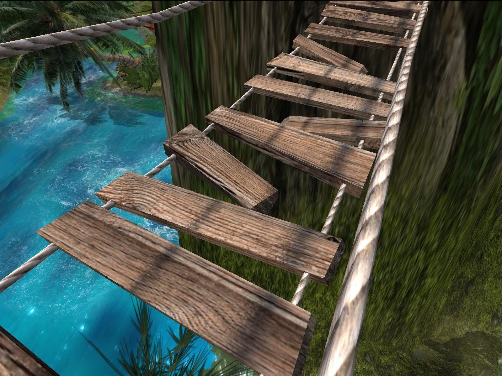 3D Hanging Rope Bridge - 3D Model | 3D-Modeling | Pinterest | Bridge