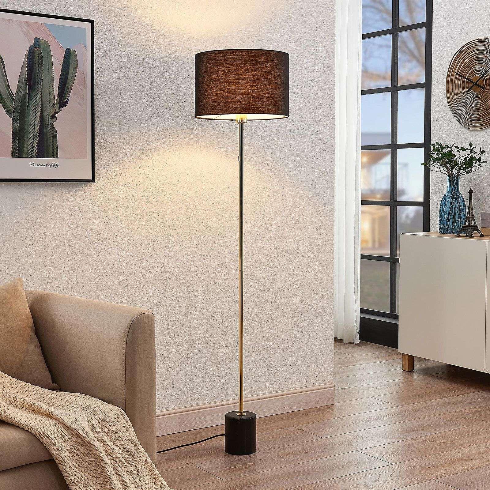 Moderne Stehlampe Von Lindby Schwarz