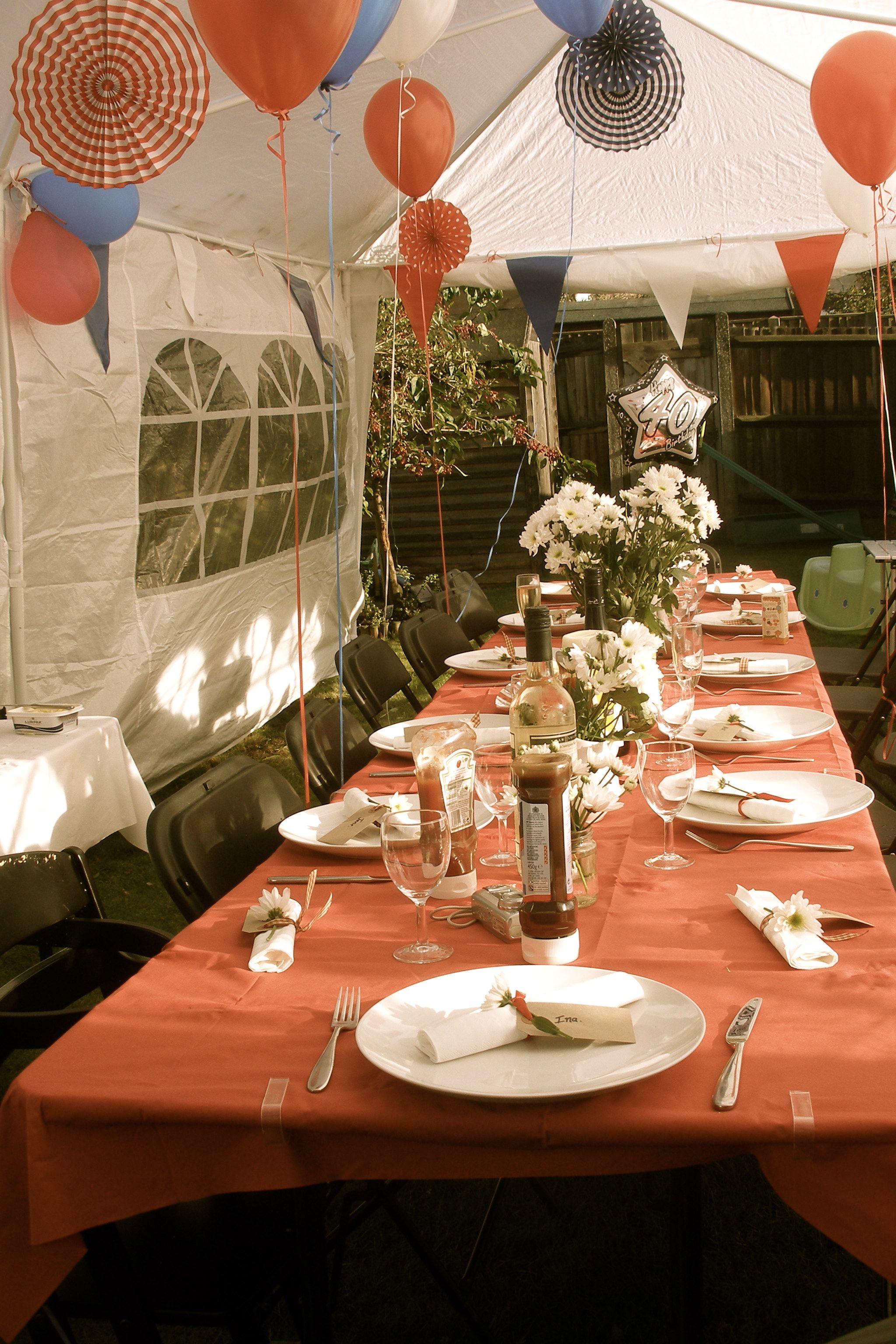 rustic bbq 40 year old birthday party ideas themes woman
