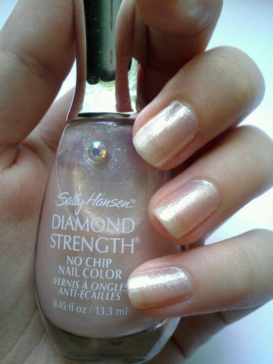 Sally Hansen Diamond Strength Nail Polish in Fairy Tale Ivory. 2 ...